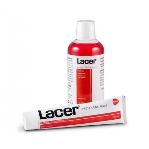 Lacer Pasta Dental 125 Ml + Colutorio 500 Ml