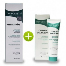 Trofolastin Antiestrias 250 Ml + Cuidado Pezon 50 Ml
