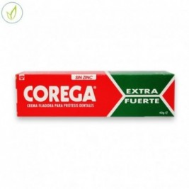 Corega Ultra Crema Extrafuerte Adhesivo Protesis Dental 40 Ml