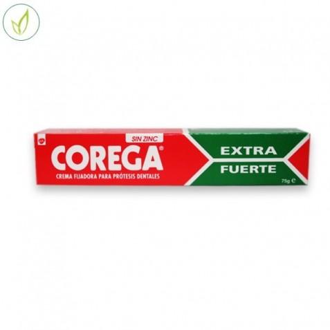 Corega Ultra Crema Extrafuerte Adhesivo Protesis Dental 75 Ml