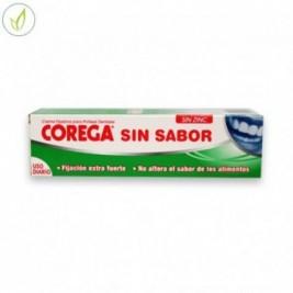 Corega Sin Sabor Crema Extrafuerte Adhesivo Protesis Dental 40 Ml
