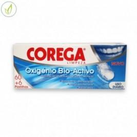 Corega Oxigeno Activo 60 Tabletas + 6 De Regalo