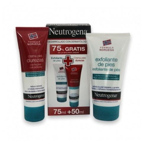 Neutrogena Pack Crema Pies Durezas Y Exfoliante