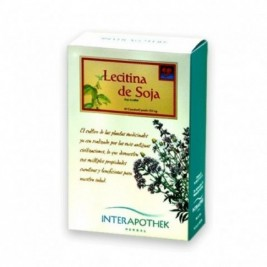 Lecitina De Soja 60 Caps 500 Mg Interapothek