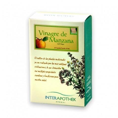 Vinagre De Manzana 60 Caps 360 Mg Interapothek
