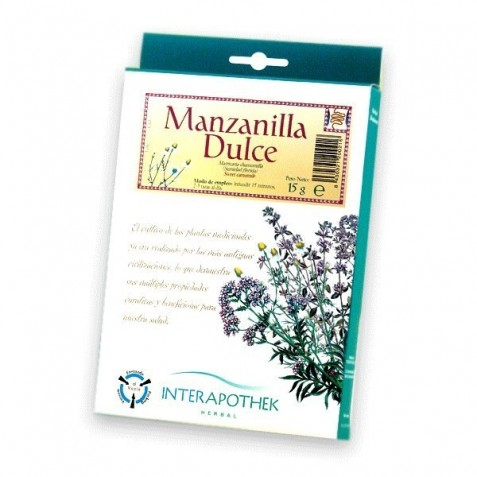 Manzanilla Dulce 25 Gr Interapothek