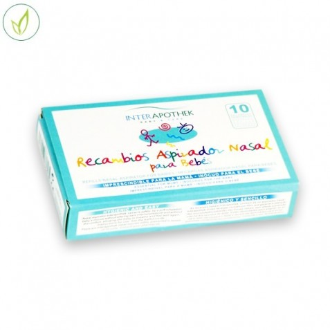 Recambios Aspirador Nasal Para Bebes 10 Uds Interapothek