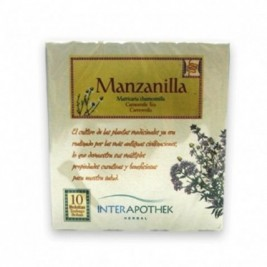 Manzanilla Infusion 25 Bolsitas Interapothek