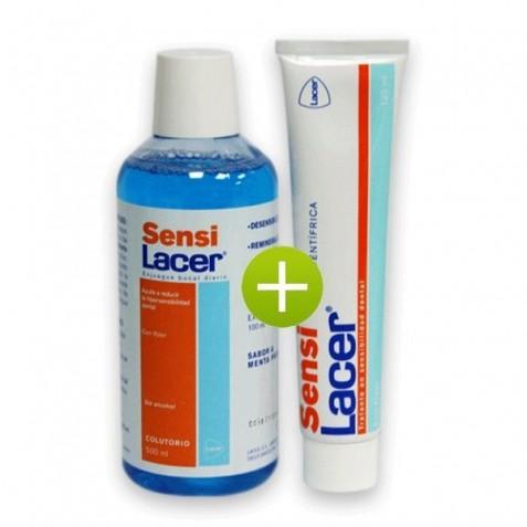 Lacer Sensilacer Pasta Dental 125 Ml + Colutorio 500 Ml