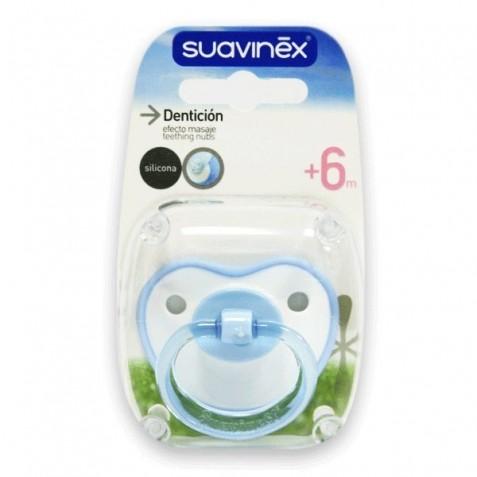 Suavinex Chupete Denticion Silicona +6