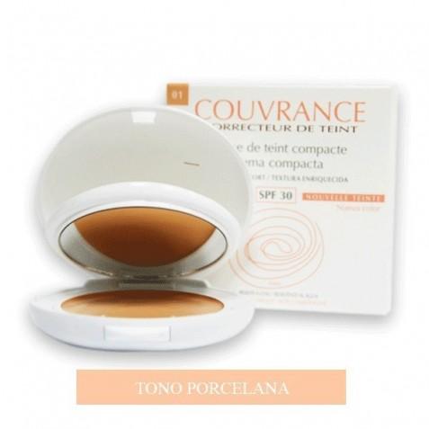 Avene Couvrance Maquillaje Compacto Crema Compacta Textura Enriquecida