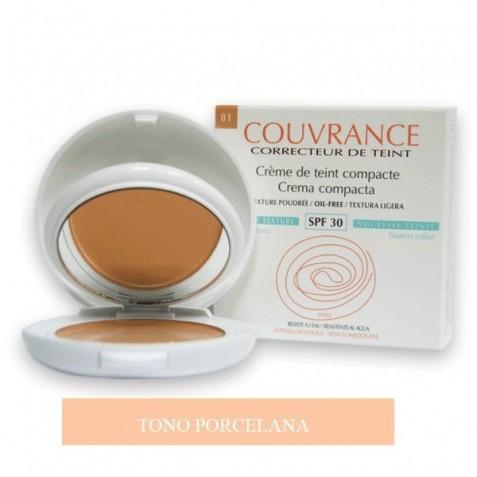 Avene Couvrance Maquillaje Compacto Crema Compacta Textura Ligera