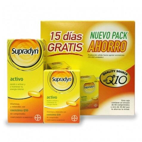 Supradyn Activo 90 Comprimidos + 30 Comprimidos Regalo