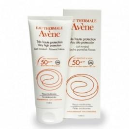 Avene Leche Mineral 50 Spf Muy Alta Proteccion Pantalla Fisica 100 Ml