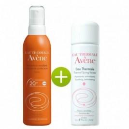 Avene Spray Solar Proteccion Media 20 Spf Y Agua Termal De Avene 50 Ml