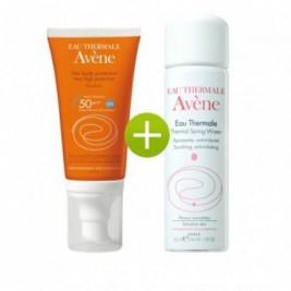 Avene Emulsion Alta Proteccion 50 Spf Y Agua Termal De Avene 50 Ml