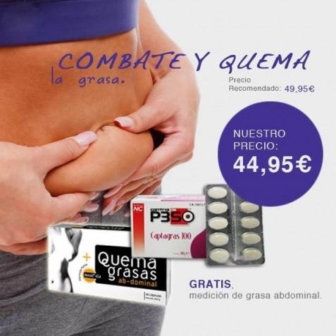 Captagras + Quemagrasa Abdominal Nutricion Center