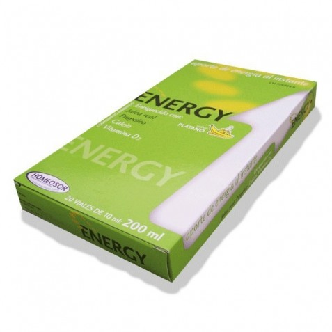Energy 10Ml 20 Viales Homeosor