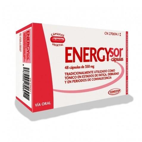 Energysor 350 Mg 48 Capsulas Homeosor
