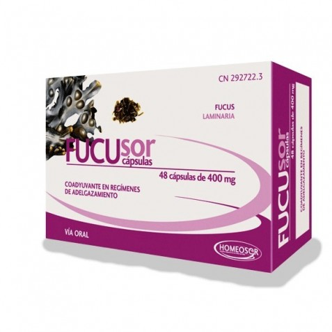 Fucusor 400Mg 60 Comprimidos Homeosor