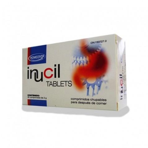 Inucil Tablets 2G 30 Tabletas Homeosor