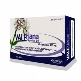 Valeriana Soria Natural 400 Mg 48 Capsulas Homeosor