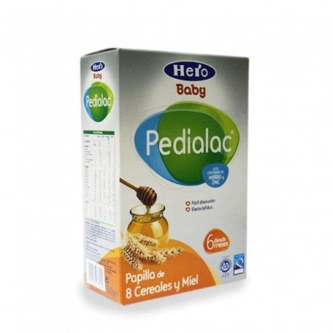 Hero Pedialac 8 Cereales Con Miel