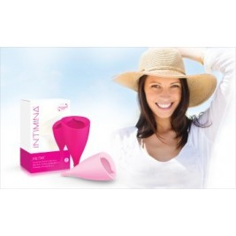Intimina Copa Menstrual Cerise T-B