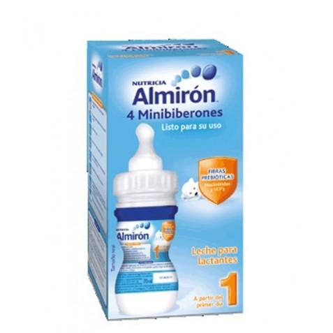 Almiron 1 Leche De Inicio 4 Minibiberones