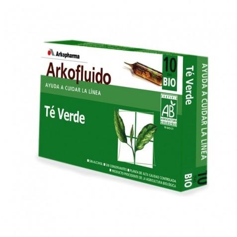 Arkofluido Te Verde Extracto 10 Ampollas