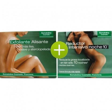 Somatoline Tratamiento Exfoliante Alisante + Somatoline Reductor Intensivo Noche