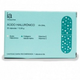 Acido Hialuronico 30 Caps Interapothek
