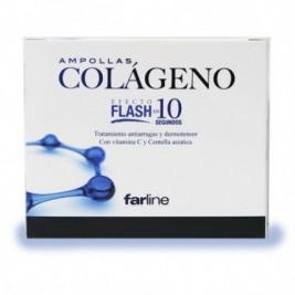 Farline Ampollas De Colageno Efecto Flash 11 Amp.