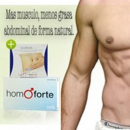 Homoforte 15 Caps + Quemaline 24 Comp