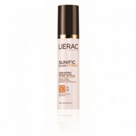 Lierac Sunific Block Spf50+ Crema Invisible Rostro Antiarrugas Y Antimanchas 50 Ml
