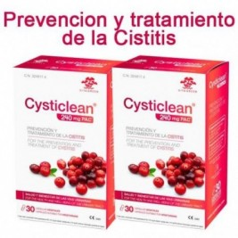 Vita Green Cysticlean 60 Caps Pack Ahorro 2 Uds