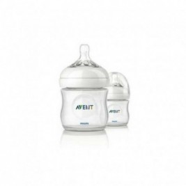 Philips Avent Biberon Natural 125Ml/4Oz Duplo Transparente