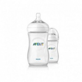 Philips Avent Biberon Natural 260Ml/9Oz Duplo Transparente