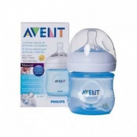 Philips Avent Biberon Natural 125Ml/4Oz Pack Individual Azul