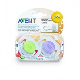 Philips Avent 2 Chupetes Decorados 0 A 6 Meses