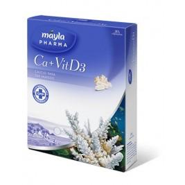 Mayla Pharma Ca + Vit D3 30 Caps