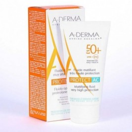 Aderma Protect-Ac Fluid Matific Spf50+ 40 Ml