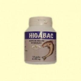 Aceite Higado Bacalao 125 Perlas A- Soria Natural