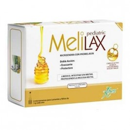 Aboca Melilax Pediatric 6 Microenemas De 5 G