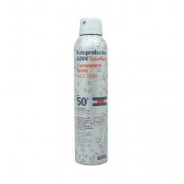 Isdin Fotoprotector Pedriatrico Transparente Spray Wet Skin 50 + 200 Ml