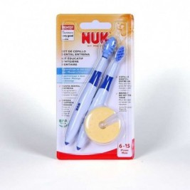 Set Cepillo Dental Nuk Entrena 2 Uds.