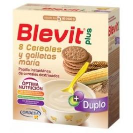 Blevit Plus 8 Cereales con Galletas Maria 600 gr