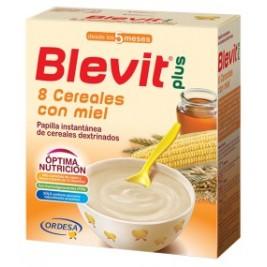 Blevit Plus 8 Cereales y miel 600 gr