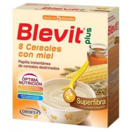 Blevit Plus Superfibra 8 Cereales y miel 300 gr