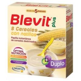 Blevit Plus Duplo 8 Cereales con natillas 2 uds de 300 gr